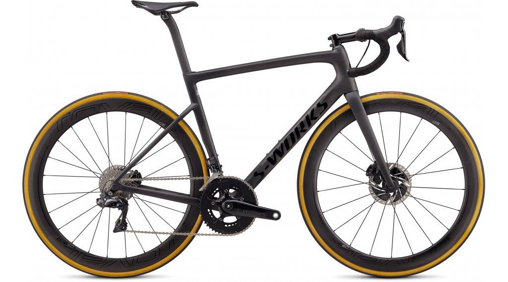 "Specialized S-Works Tarmac SL6 Disc Dura Ace Di2 28"" bici carretera bici completa tamaño 44cm satin carbono/tarmac negro/clean Mod. 2020"