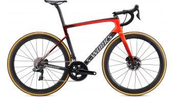 "Specialized S-Works Tarmac SL6 Disc Dura Ace Di2 28"" bici carretera bici completa tamaño 44cm gloss crimson/rocket rojo/dove gris Mod. 2020"