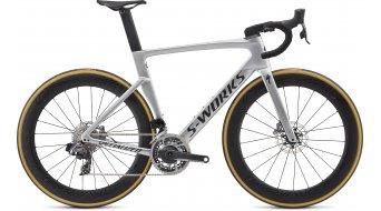 """Specialized S-Works Venge disque eTap 28"""" vélo de course vélo taille gloss métallique white argent/lite argent fade Mod. 2020"""