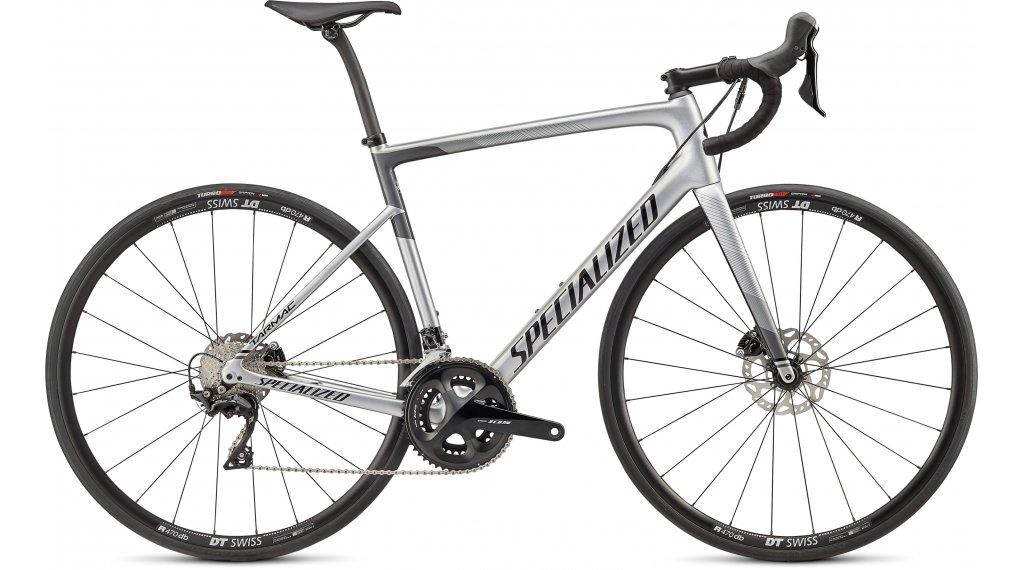 """Specialized Tarmac SL6 Sport Disc 28"""" Rennrad Komplettrad Gr. 44cm gloss light silver/charcoal/tarmac black Mod. 2020"""