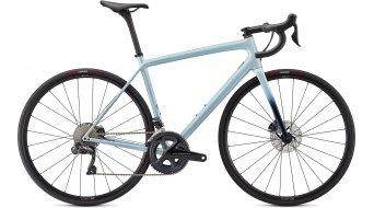 Specialized Aethos Expert 28 bici carretera bici completa tamaño 54cm gloss ice azul/teal tint/flake plata Mod. 2021