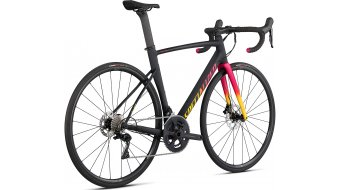 Specialized Allez Sprint Comp Disc 28 Rennrad Komplettrad Gr. 58 cm satin/gloss black/golden yellow/vivid pink fade Mod. 2021