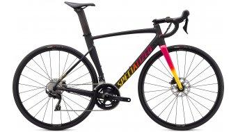 Specialized Allez Sprint Comp Disc 28 bici carretera bici completa tamaño 58 cm satin/gloss negro/golden amarillo/vivid rosa fade Mod. 2021
