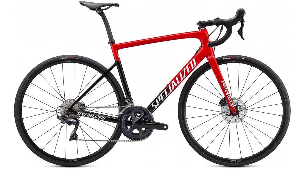 Specialized Tarmac SL6 Comp 28 bici carretera bici completa tamaño 56cm rojo tint/blanco/dorado pearl Mod. 2021