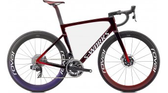 Specialized S-Works Tarmac SL7 Speed of Light Collection 28 Komplettrad red tint/chameleon/white Mod. 2022