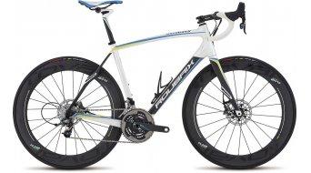 "Specialized Roubaix SL4 Disc Power SE 28"" Rennrad Komplettrad Gr. 52cm satin metallic white/silver/carbon/blue Mod. 2016"