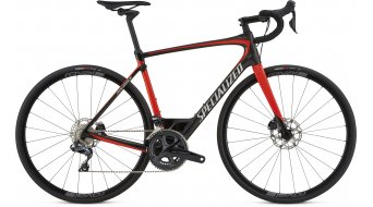 "Specialized Roubaix Expert Ultegra Di2 8070 28"" road bike bike size 54cm carbon/rocket red/kool silver 2018- TESTBIKE Nr. 19, lever right hat one scratch"