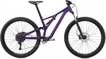 "Specialized Stumpjumper FSR ST 29"" ladies MTB bike plum purple/acid lava 2019"
