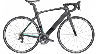 Trek Madone 9.2 H2 compact road bike bike 58cm mat dnister black/miami green