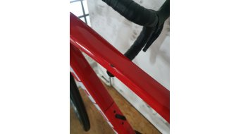 "Trek Domane SL 6 28"" bici carretera bici completa tamaño 52cm viper rojo Mod. 2021- MODELO DE DEMONSTRACIÓN- faltas de pintura AM tubo superior"