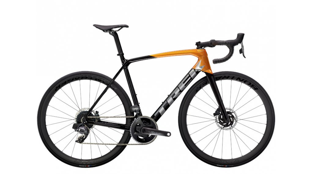 "Trek Émonda SL 7 Disc eTap 28"" Rennrad Komplettrad Gr. 60cm carbon smoke/factory orange Mod. 2021"