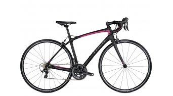 Trek Silque SL Compact WSD bici da corsa bici completa da donna mis. 47cm matte Trek black/flamingo pink mod. 2016