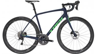 Trek Domane SL 5 disc road bike bike mat deep dark blue/green light 2017