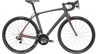 Trek Domane SLR 9 eTap bici da corsa bici completa . matte dnister black/viper red mod. 2017