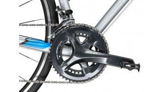 """Trek Domane AL 3 28"""" vélo de course vélo taille 54cm mat quicksliver Mod. 2018"""