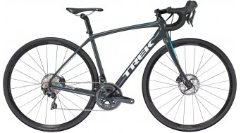 "Trek Domane SL 6 Disc WSD 28"" bici da corsa bici completa da donna . solid charcoal/california sky blue mod. 2018"
