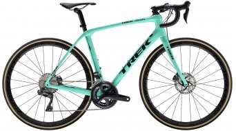 "Trek Domane SLR 7 disc WSD 28"" road bike bike ladies size 52cm Miami green/Trek black 2019"
