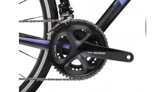 "Trek Émonda SL 5 28"" bici da corsa bici completa da donna mis. 50cm matte Trek black/gloss ultraviolet mod. 2019"