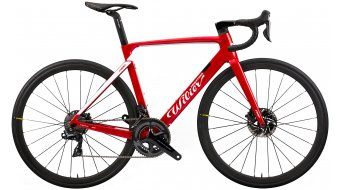 """Wilier Cento10Pro Disc 28"""" Rennrad Komplettrad Shimano Ultegra/Wilier Air50KC Carbon Gr. XS red/white glossy Mod. 2020"""
