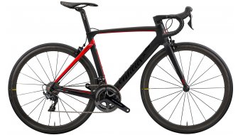 "Wilier Cento10Pro Disc 28"" Rennrad Komplettrad Shimano Ultegra/Wilier Air50KC Carbon Gr. XS black/red matt glossy Mod. 2020"
