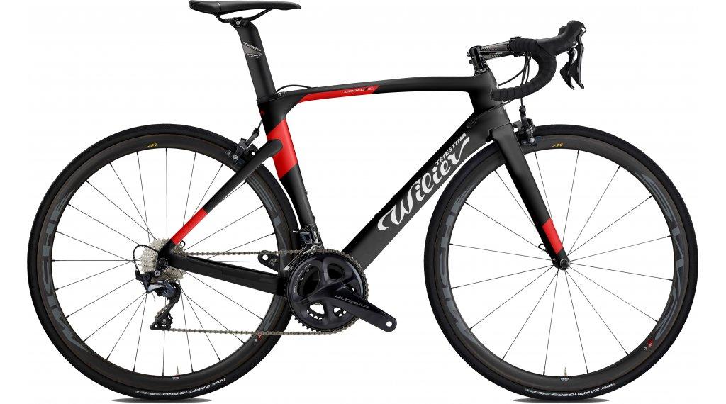 "Wilier Cento1Air 105 7000 RS 100 28"" bici da corsa bici completa mis. M black/red mod. 2020"