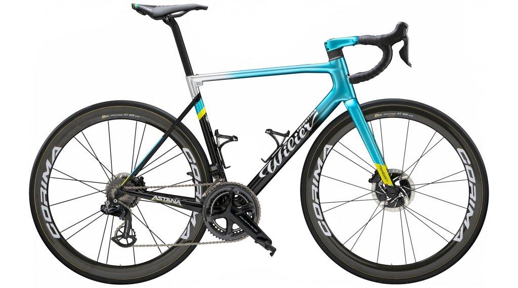 """Wilier Zero SLR disc 28"""" road bike bike SRAM Force eTAP AXS/Fulcrum Racing Zero aluminium size XS astana 2020"""