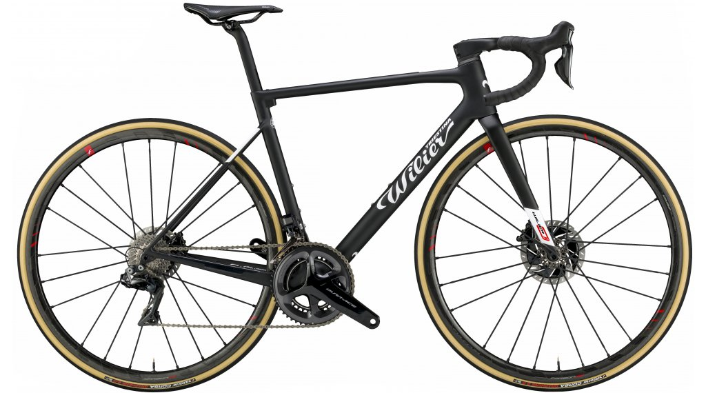 "Wilier Zero SLR Disc 28"" racefiets fiets SRAM Red eTAP AXS/Fulcrum Racing Zero carbon maat XS black/white mat model 2020"