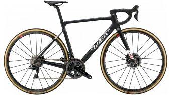 Wilier Zero SLR Disc 28 bici carretera bici completa Campagnolo Super Record EPS / Campagnolo Shamal tamaño XS negro/blanco glossy Mod. 2021