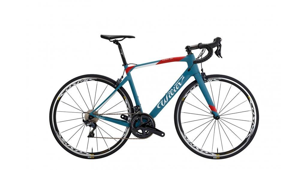 "Wilier Cento1NDR Disc Ultegra RS 170 28"" bici da corsa bici completa mis. XS blue/red mod. 2019"