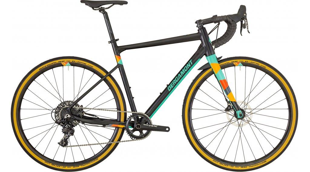 "Bergamont G countour urance 6.0 28"" Gravel bike bike size 49 cm black/mint (matt/shiny) 2019"