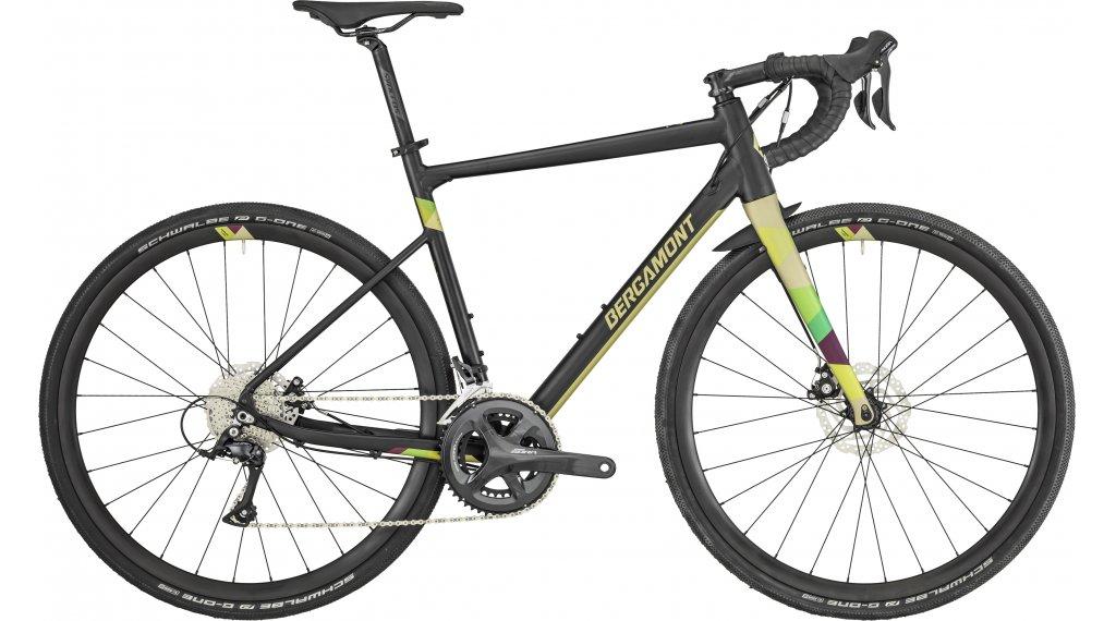 "Bergamont Grandurance 5.0 28"" Gravelbike 整车 型号 49厘米 black/goldish green (matt) 款型 2019"