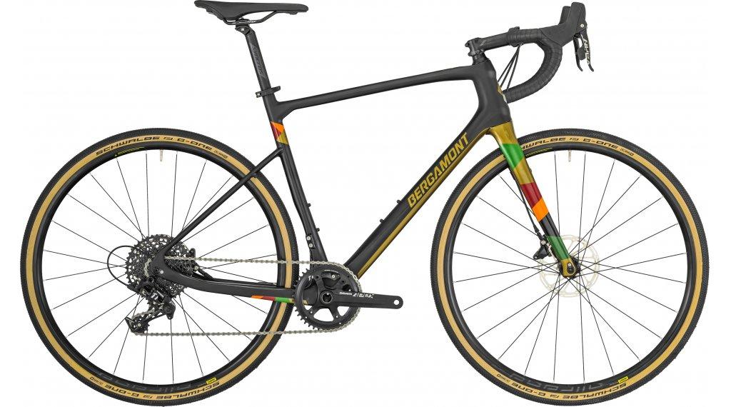 """Bergamont Grandurance Elite 28"""" Gravelbike 整车 型号 53厘米 black/金色 (matt/shiny) 款型 2019"""