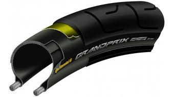 "Continental Grand Prix 28"" road bike- wire bead tire 28-622 (700x28C) black/black Skin"