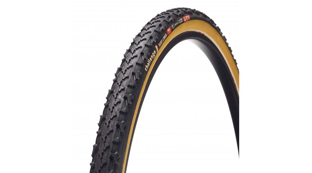 "Challenge Baby Limus Pro HCL 28"" Cyclocross-Faltreifen 33-622 (700x33C) black/tan"