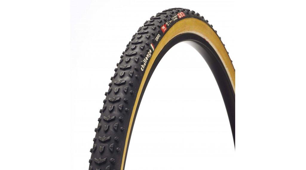 "Challenge Grifo Pro HCL 28"" Cyclocross Faltreifen 33-622 (700x33C) black/tan"