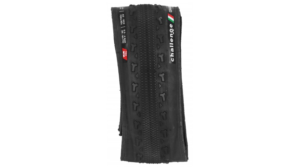 "Challenge Gravel Grinder Race VCL 28"" Gravel-Faltreifen 42-622 (700x42C) black/black"