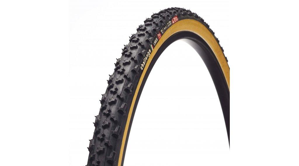 """Challenge Limus Pro HCL 28"""" Cyclocross-Faltreifen 33-622 (700x33C) black/tan"""