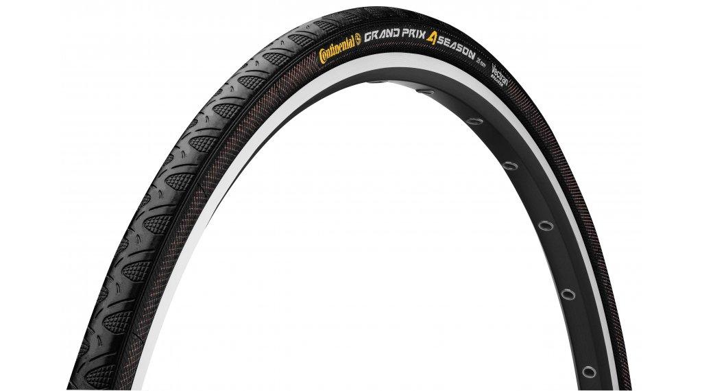 "Continental Grand Prix 4-Season 28"" 公路赛车-折叠轮胎 25-622 (700x25C) black/black Skin"