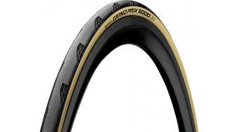 """Continental Grand Prix 5000 28"""" vélo de course-pneu pliable 25-622 (700x25C) Tour de France Edition noir/couleur crème"""