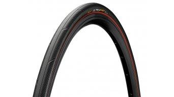 "Continental Ultra Sport III 28"" Performance Rennrad-Faltreifen 25-622 (700x25C) black/red Skin"
