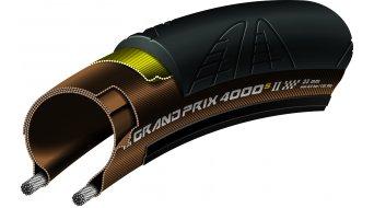 Continental Grand Prix 4000 S II VectranBreaker vélo de course-pneu pliable 23-622 (700x23C) noir/transparent 3/330tpi BlackChili Compound