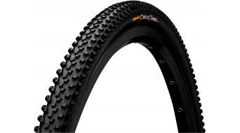 "Continental Cross King CX Performance 28"" Cyclocross-折叠轮胎 35-622 (700x35C) black/black Skin"