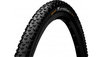 "Continental Race King CX 28"" Performance Performance Cross-折叠轮胎 35-622 (700 x 35C) 黑色/黑色 Skin 3/180tpi PureGrip Compound"