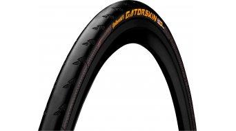 "Continental GatorSkin 28"" 公路赛车-折叠轮胎 black/black Skin"