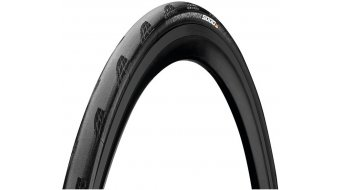 "Continental Grand Prix 5000 28"" road bike-folding tire black/black Skin"