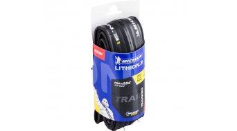 Michelin Lithion3 Rennrad-Faltreifen TS 25-622 (700x25C) schwarz