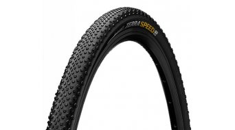 "Continental Terra Speed ProTection 28"" Gravel- gomma ripiegabile nero/nero skin"