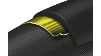 "Continental Grand Prix 5000 27.5"" 折叠轮胎 VectranBreaker 28-584 (27.5x1.10) 黑红组合 (3/330 TPI) 黑色/黑色-skin"