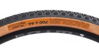 "WTB Raddler TCS 28"" Gravel-折叠轮胎 44-622 (700x44C) 黑色/tan"