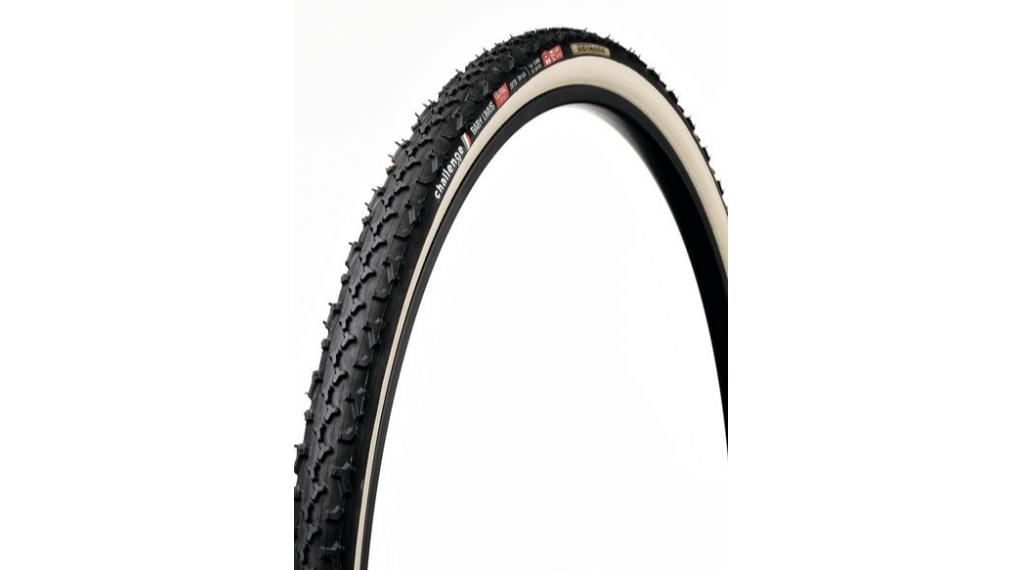 """Challenge Baby Limus Seta Ultra S HTU 28"""" Cyclocross-Schlauchreifen 33-622 (700x33C) black/cream"""